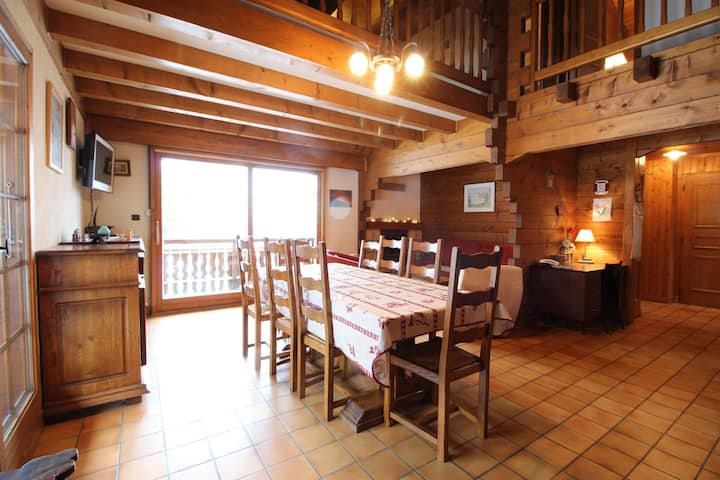chalet 3 bedroom for 7 peolpe