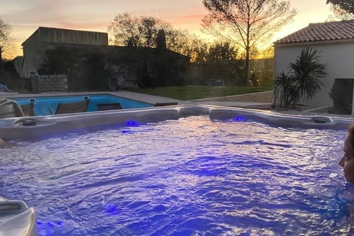 Villa Contemporaine **** au calme, Piscine et Spa