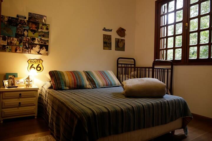 Vila da Montanha casa na floresta Aluguel Quartos
