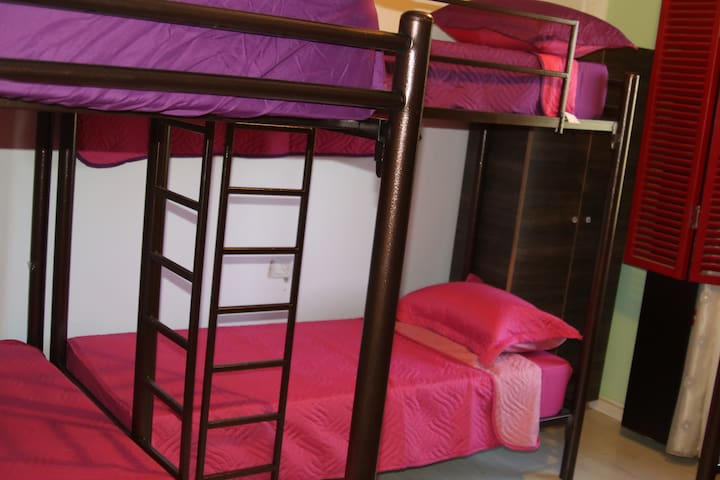 Hommus Hostel Female dorm room