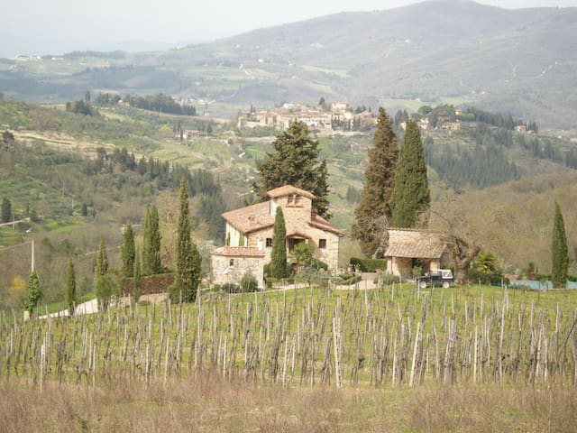 Appartement in kleinem Weingut - Greve in Chianti - Casa