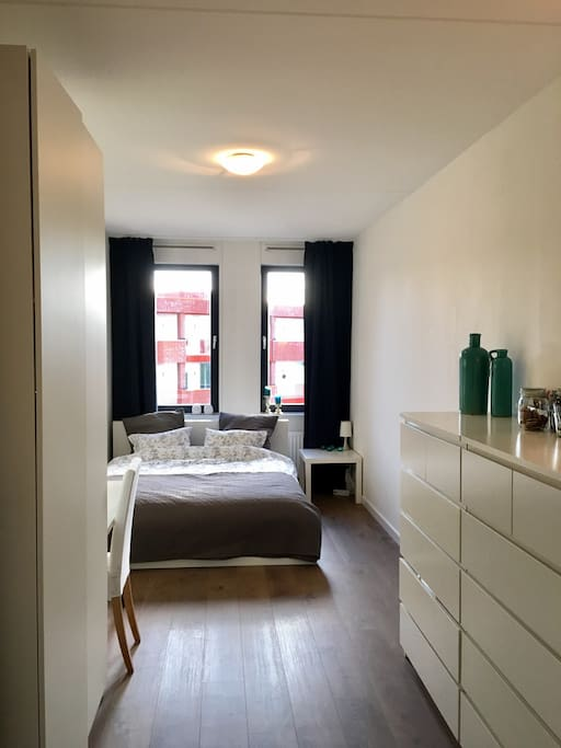 De Airbnb kamer