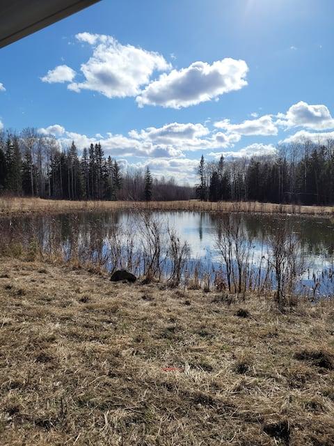 Wilderness RVcamping near Long Lake provincial pk!