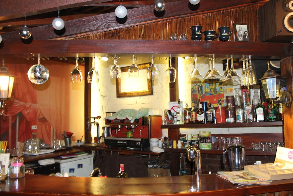 bar on the side