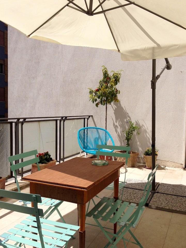Bella Casa ZIE 2 per 4 con terrazzino e parking