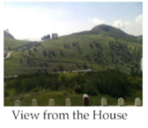 Home away from home on a quiet hill top in Ooty