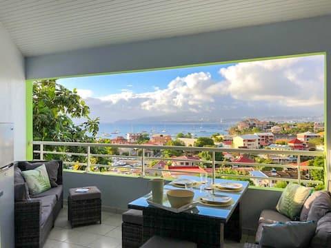 1 sypialnia Ocean View, Basen, Trzy wyspy, Koniec świata