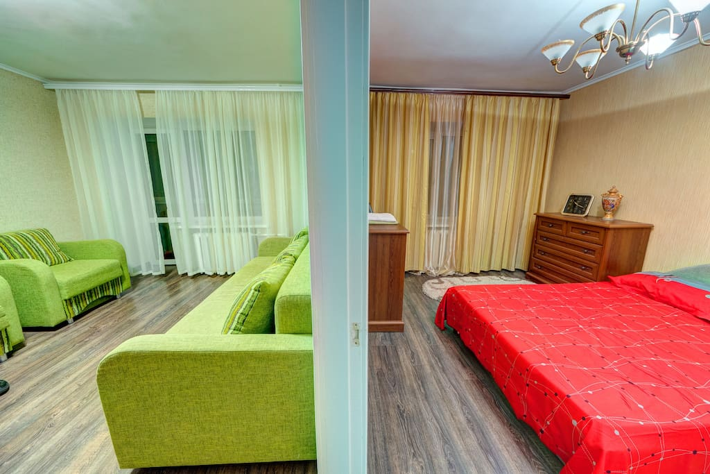 Гостиная/спальня