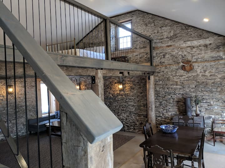 Live County History: Renovated 1860 Carriage House