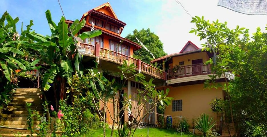 Baan Rao Bed & Breakfast - Seaview Aircon room - Sala Dan - Bed & Breakfast