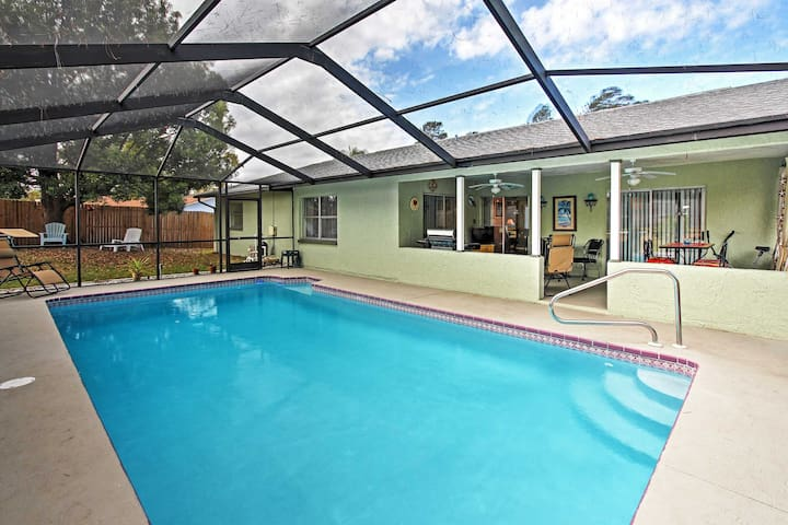 Updated Serene 2BR Spring Hill House w/Pool!