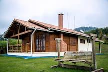 Casa familiar em fazenda orgânica