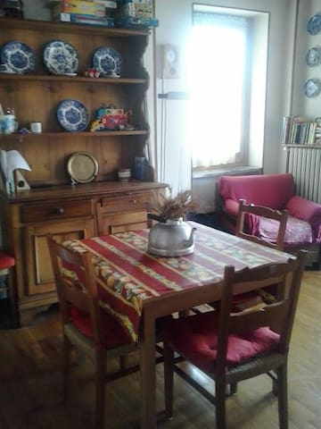 Nice flat in Cesana, Olympic Mountains - Cesana Torinese - Apartment