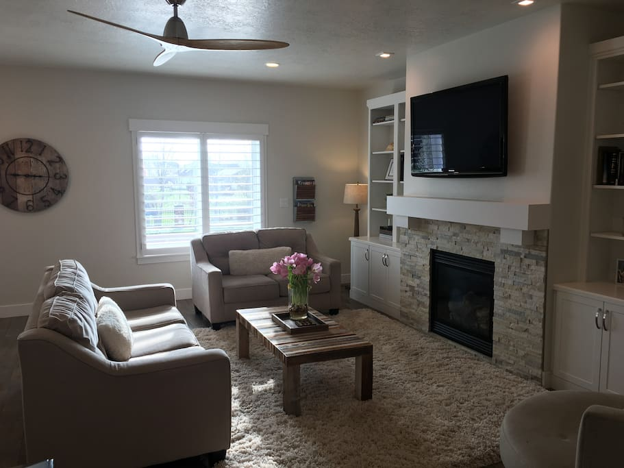 New immaculate home built in 2016 conveniently located between Provo and Salt Lake City.