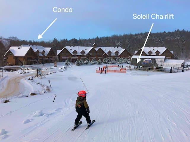 Ski-In/Ski-Out - Sunny Side Mont Tremblant