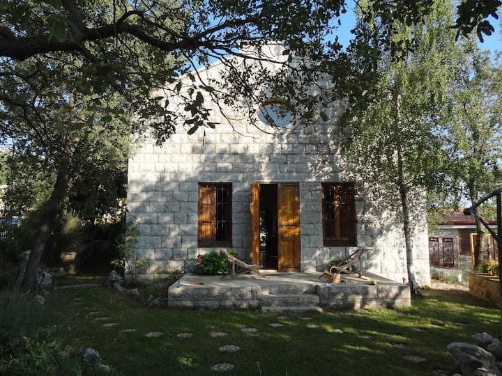 An old restored silk factory near Mount Sannine