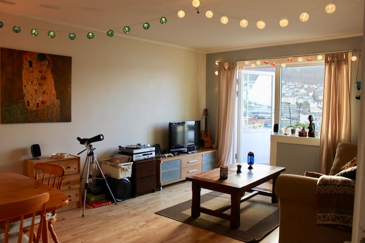 Spacious apartment in the center of Bergen - 卑爾根 - 公寓