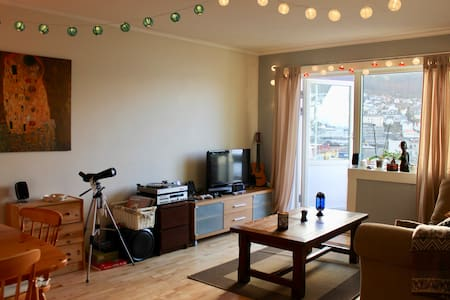 Spacious apartment in the center of Bergen - Берген - Квартира