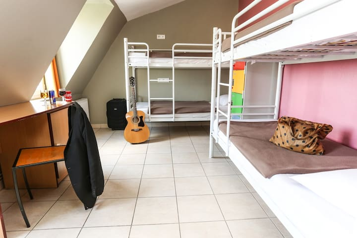 Bed in a 4 bed Dormitory (female only)  in hostel near Montmartre Hill