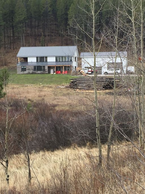 2500 Square foot house 10 miles south of Wilson.  Hiking, biking, fishing, snowmobiling and hunting right out the backdoor!