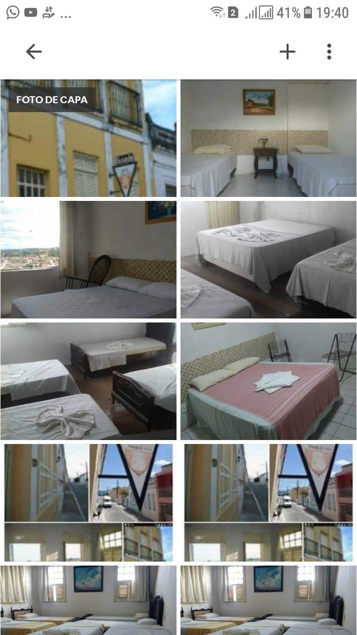 Hostel pousada sobrado do Conde