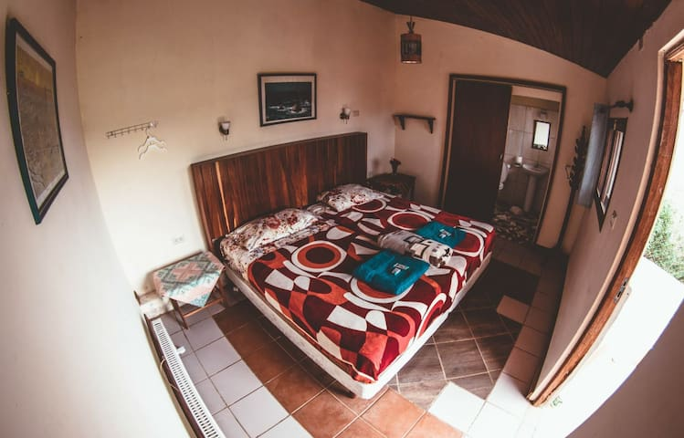 Private cabin, part of hostel Serena