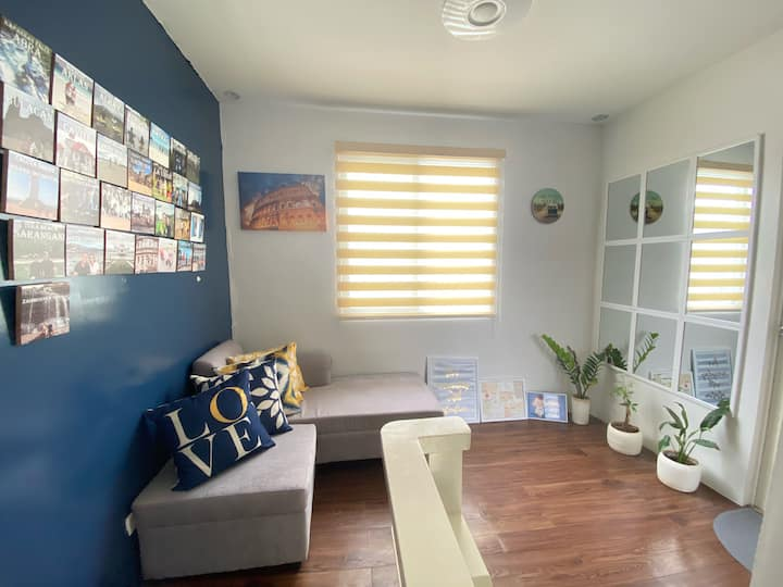 Secure and IG-Worthy Entire House - 1BR with AC