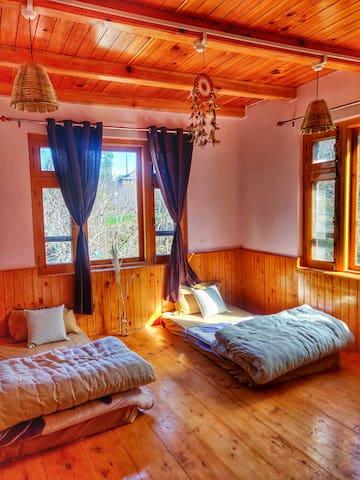 Dormatory (3 single bed room)