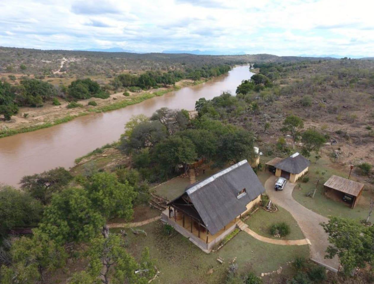 Greater Kruger Safari River front property