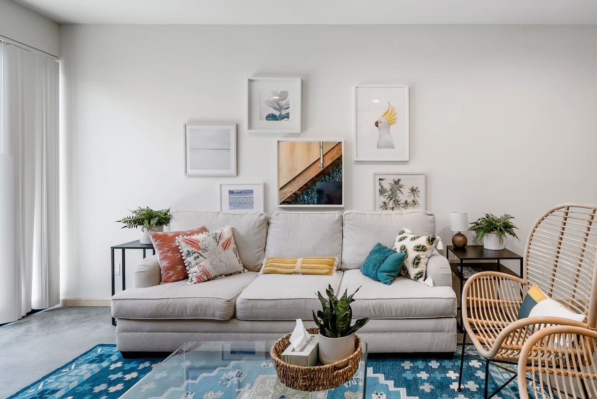 Admire the Bold Style at a Light Filled North Park Nest