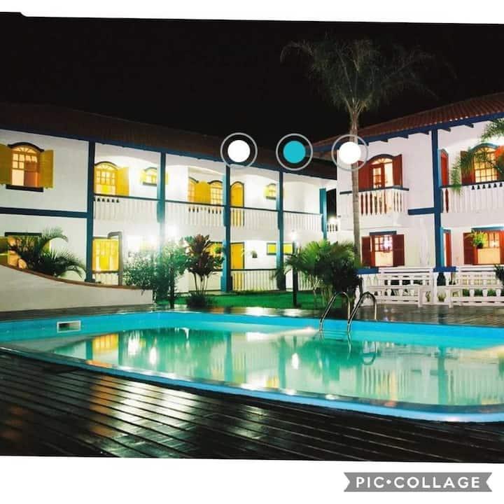 Residencial Colonial Amarelo Apartamento2D