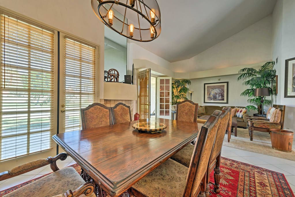 The home is perfectly suited for up to 4 travelers.
