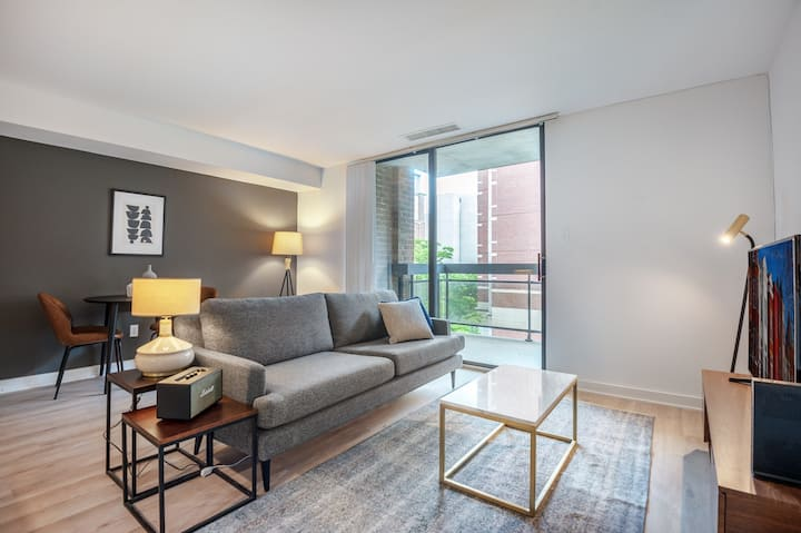 Sleek Foggy Bottom 1BR w/ W/D + Gym near State Department by Blueground