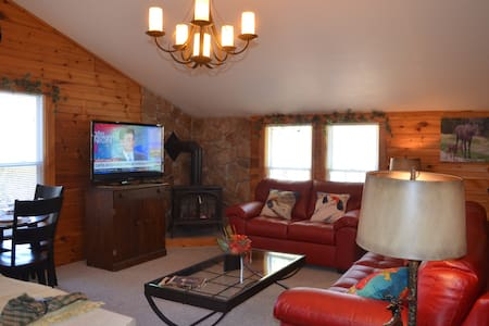 Retro Cabin with all the modern features - Fryeburg - Chambres d'hôtes