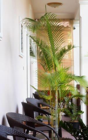 terrasse room