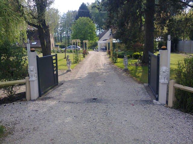 La Berjaterie - Saint-Loup-d'Ordon - Dům pro hosty