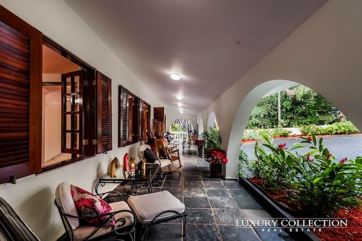 HACIENDA BLANCA PALOMA/ COQUI SUITE - Cidra - Apartament