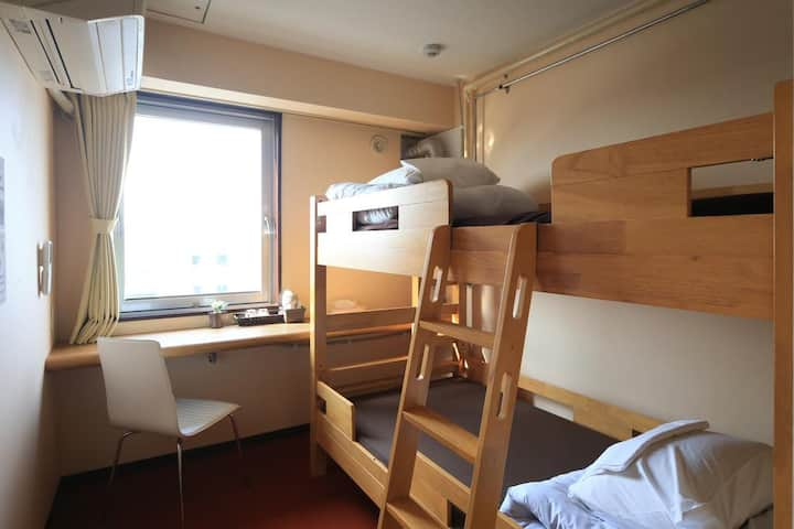 Twin room for LCC users (with bathroom)