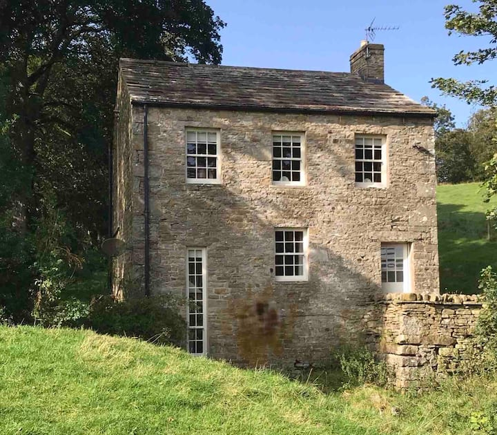 Unique 18thC Yorks Dales Silk Weavers' mill house