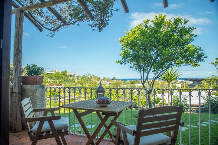 Typical apartment with sea view in Forio d'Ischia