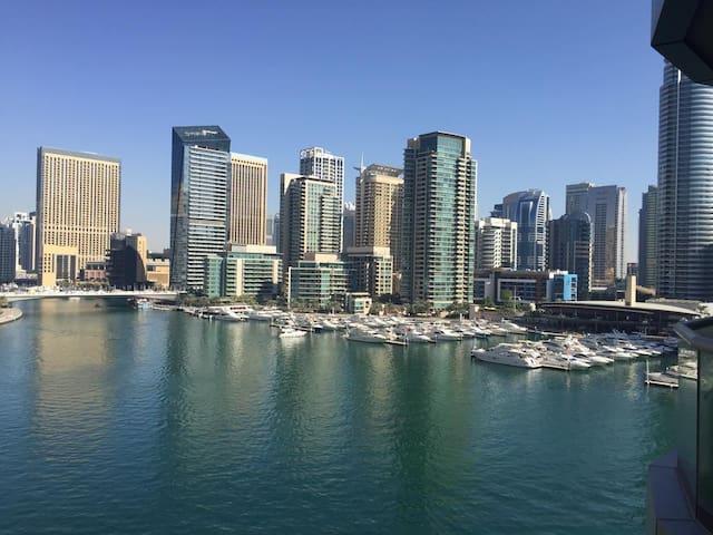 Spectacular Marina view