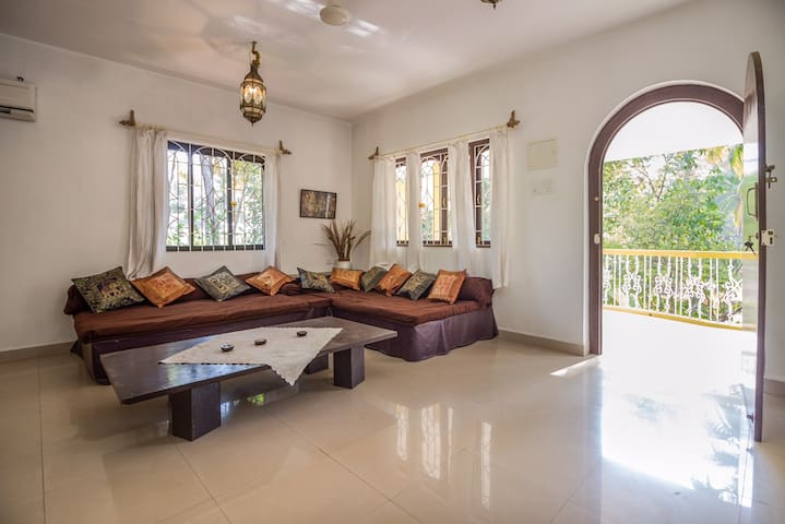 2 double bedroom apartment, near Palolem beach - Canacona - Appartement