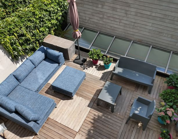Quiet apartment with terrace in Maastricht center