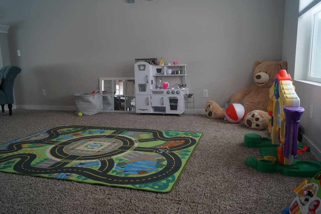 Playroom to the right upon entry
