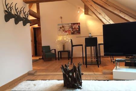 Appartement de charme à la montagne - Bellevaux - Apartemen