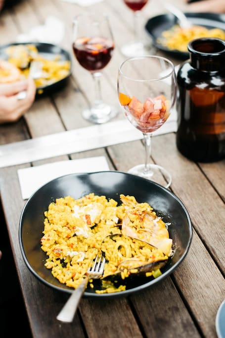 Paella and Sangria Cooking class