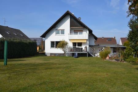 Tolle Wohnung/Balkon in Wolfershausen bei Kassel - Felsberg - Huoneisto