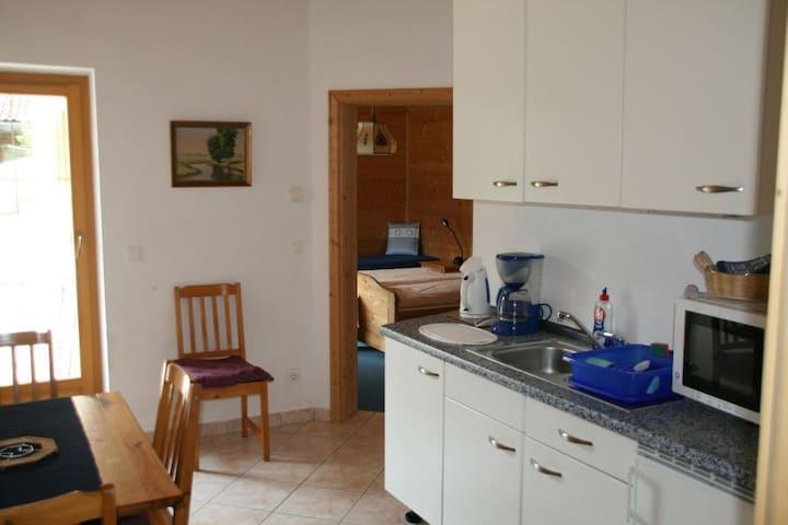 Neuwertige Wohnung in schöner Lage - Niederau - Apartamento