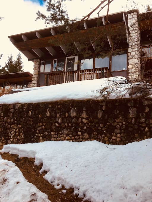 Villino panoramico vicino a cortina chalet in affitto a for Affitto chalet cortina