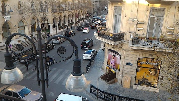 Baku Apartment! City Center! Big and Cozy Place!